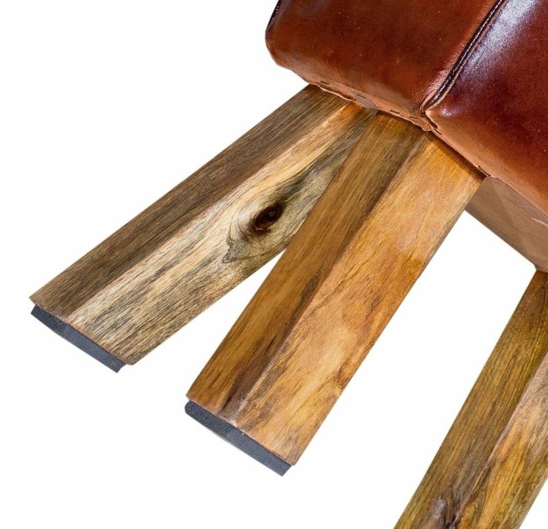 Vintage Sitzbock Leder