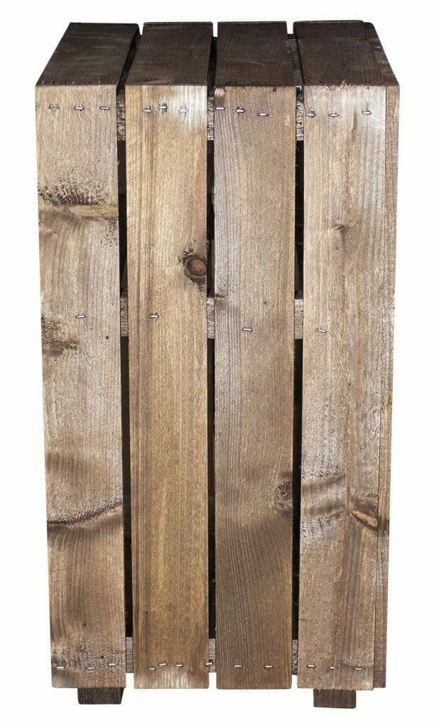 Beistelltisch-Holzkisten Regal