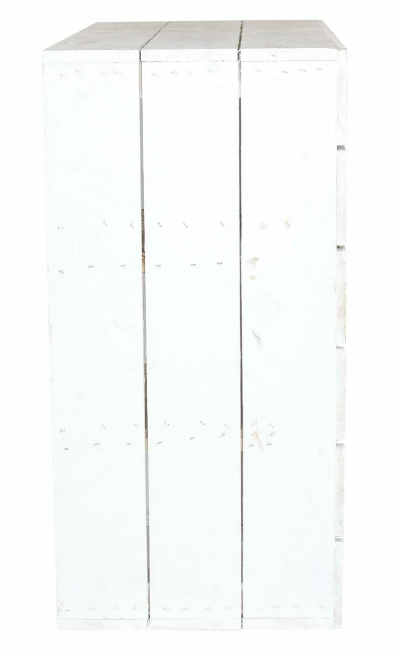 Holzkisten Regal-Holzschrank
