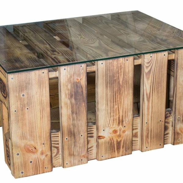 Palettentisch-Tisch aus Paletten