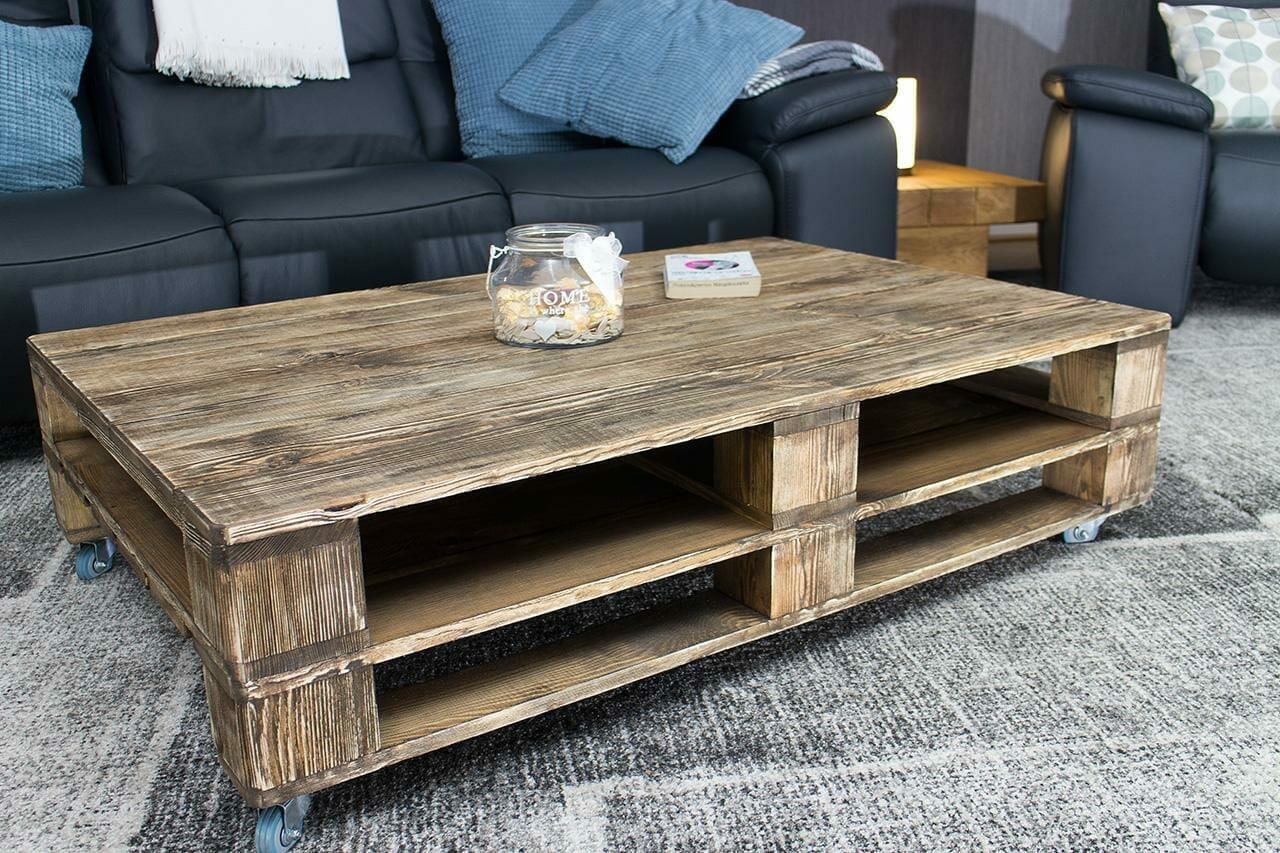 tisch aus europaletten palettentisch 120x80 vintage palettenm bel On tisch aus palettenholz