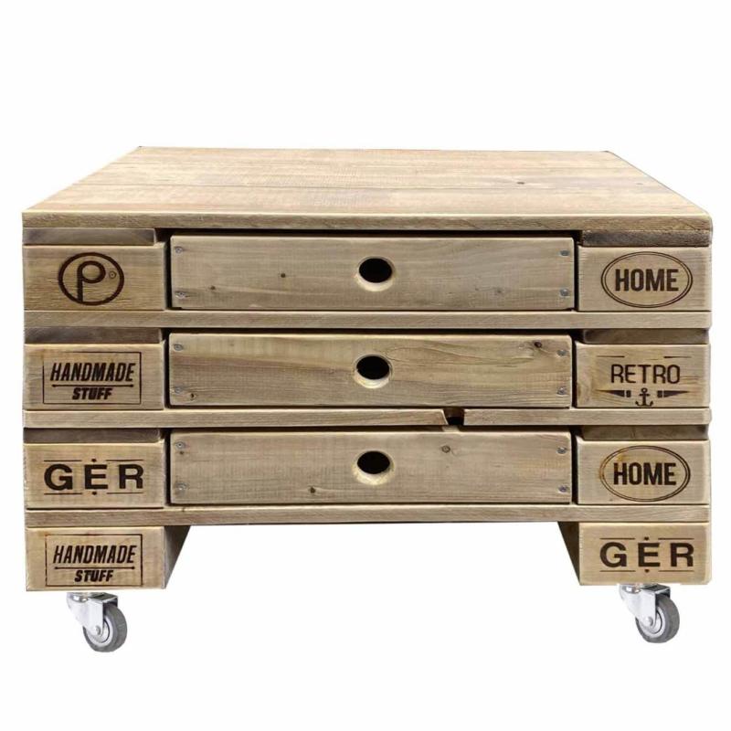 Beistelltisch-Palettenmöbel-Tisch 25