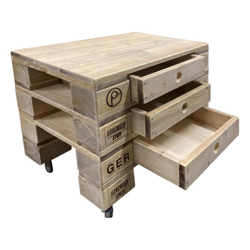 Beistelltisch-Palettenmöbel-Tisch 27