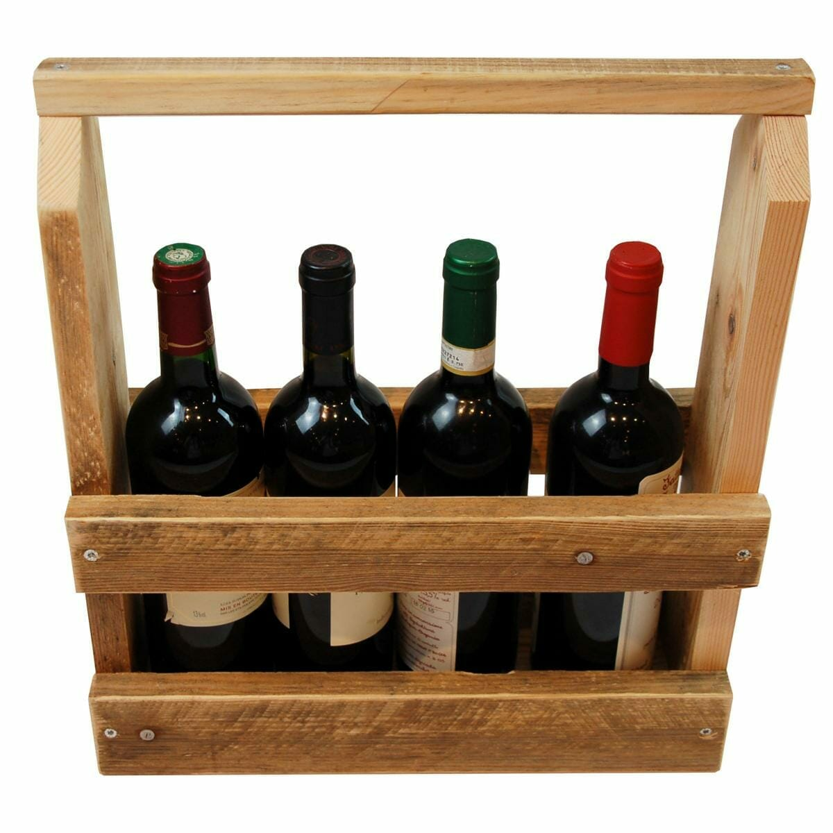 Flaschen-Träger-Flaschenregal aus Paletten
