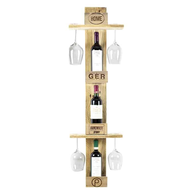 Flaschenregal-Weinregal-Standregal-Palettenmöbel