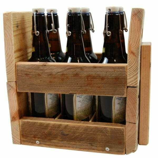 Flaschenträger-Regal-Palettenmöbel 24