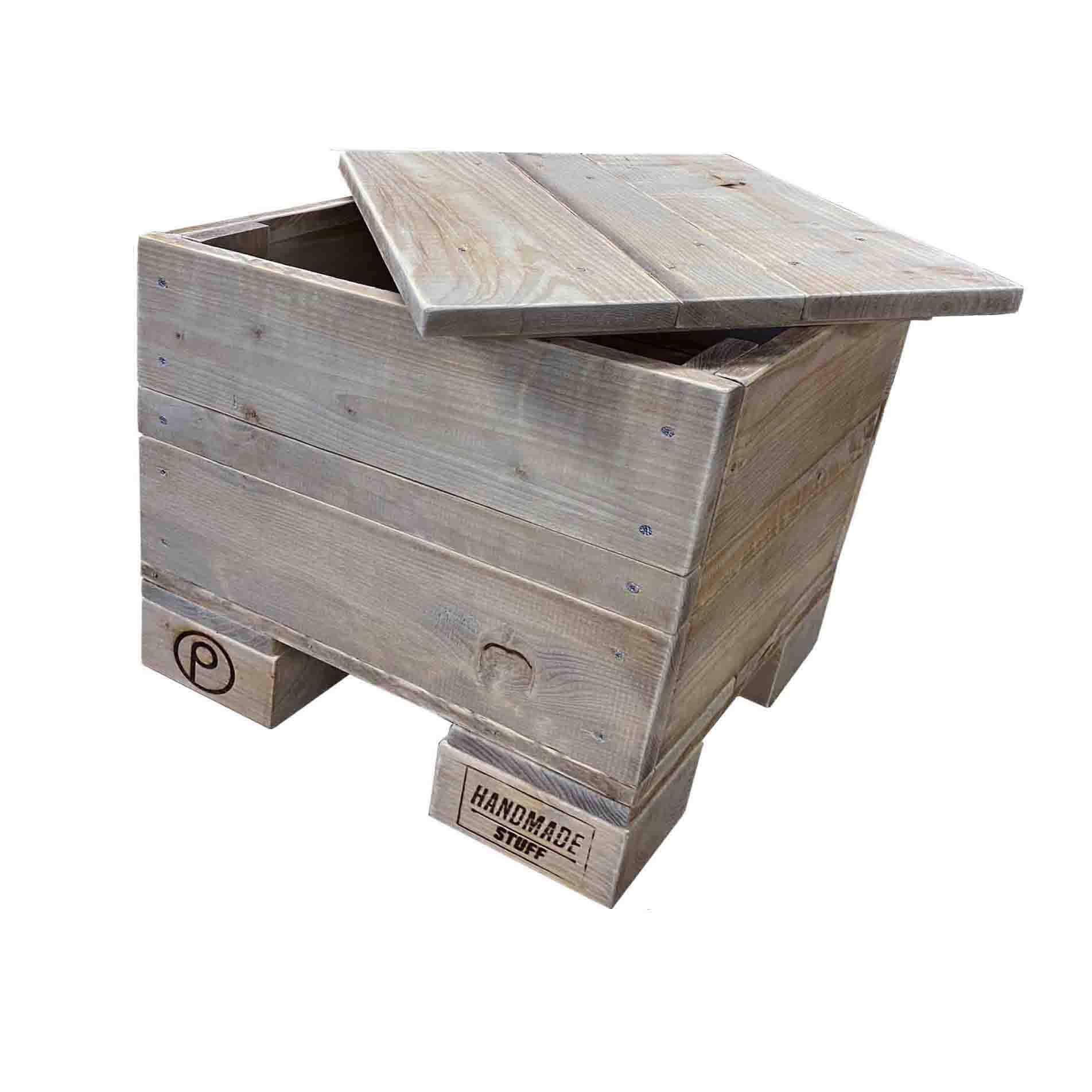 ᐅ Hocker Cube Aus Paletten Saris Garage Palettenmobel Shop