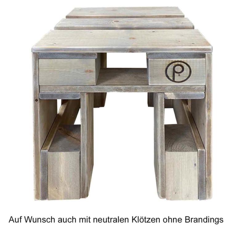 Hocker-Stuhl aus Paletten-Palettenmöbel 24