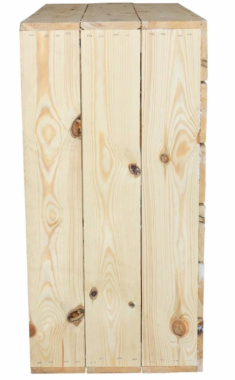 Holzkisten Regal Schrank