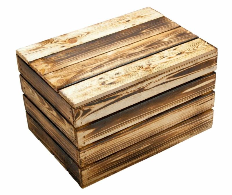 Holztruhe klein