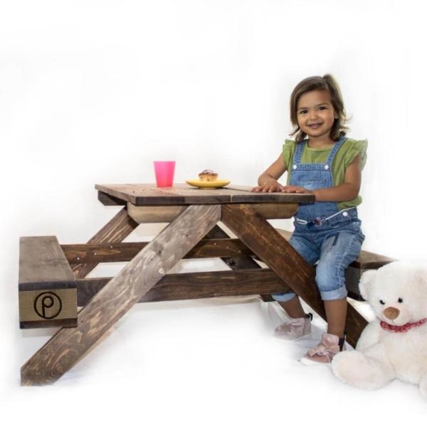 Kindersitzbank-Bank aus Paletten-Palettenmöbel