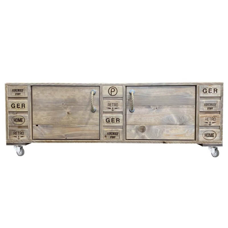 Sideboard-TV Board aus Paletten
