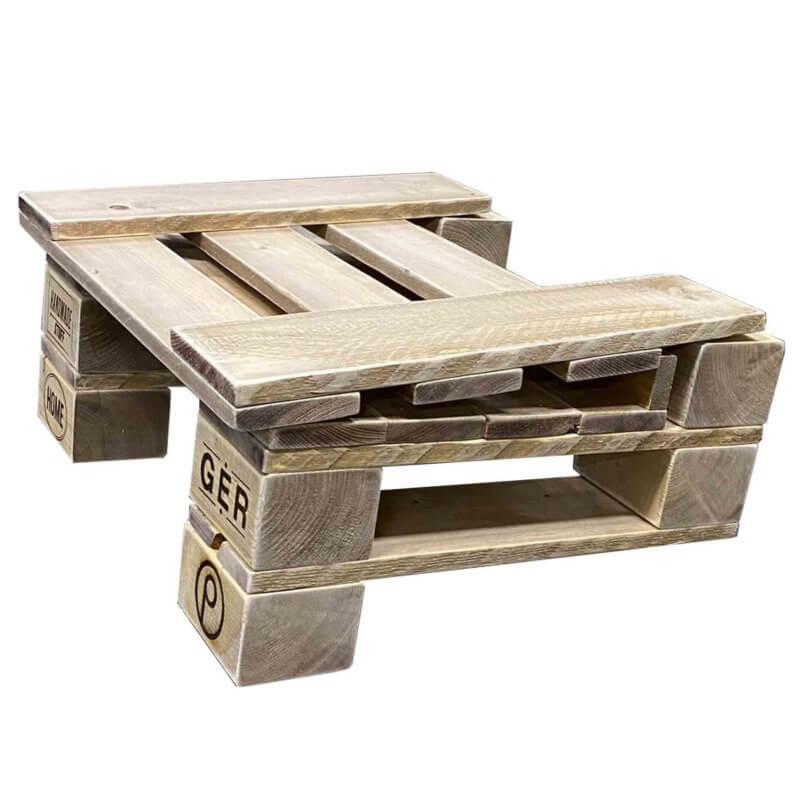 Lounge Sitz aus Paletten-Palettenmöbel