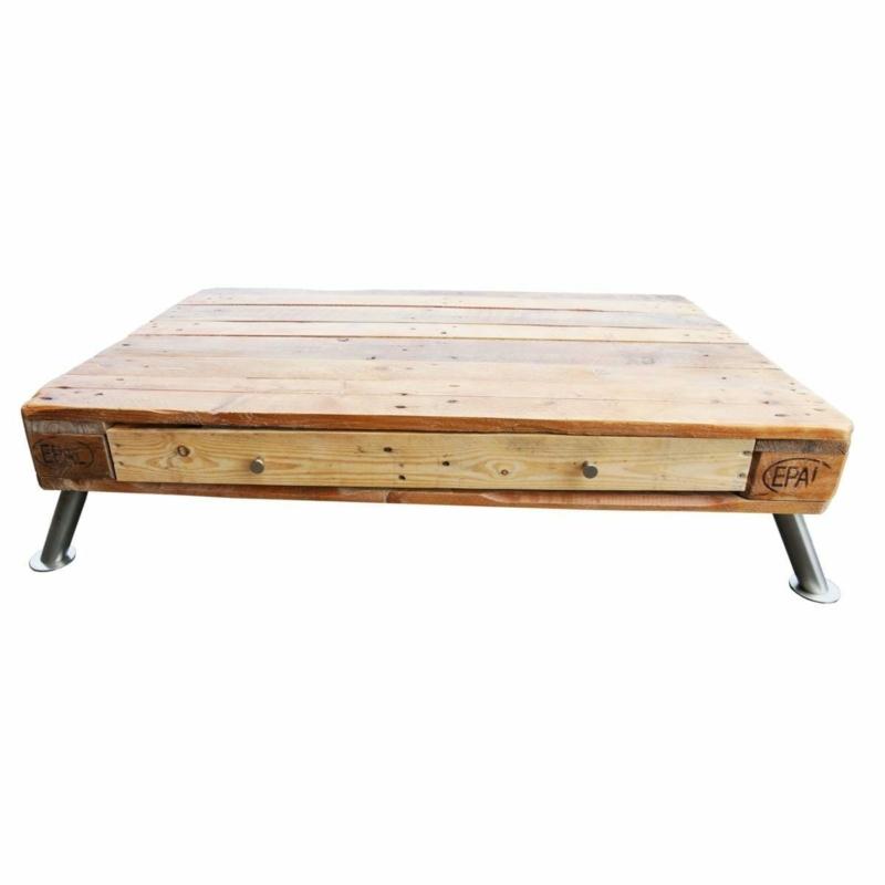 Lounge-Tisch-Couchtisch aus Paletten-Europaletten-Palettenmöbel