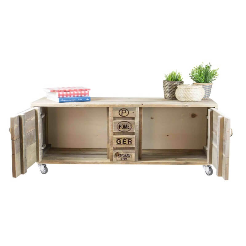 Palettenmöbel Kommode-Sideboard 24