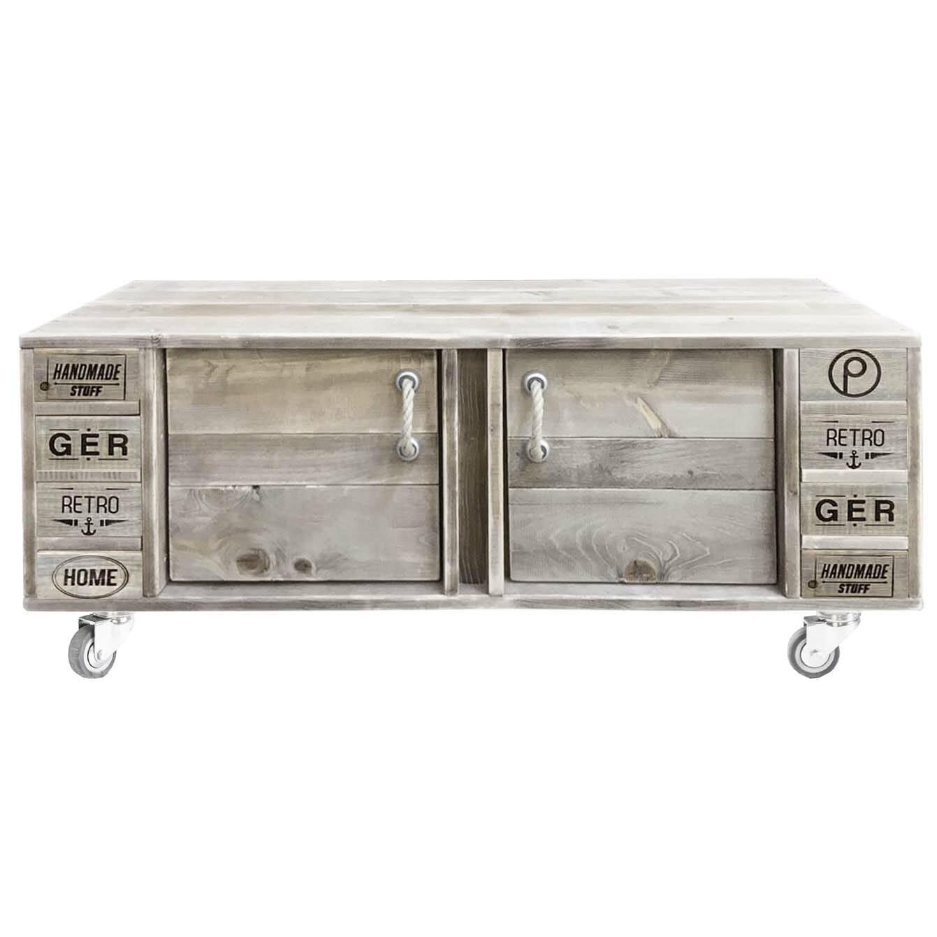 sideboard kommode 120x40x47cm dein palettenm bel shop. Black Bedroom Furniture Sets. Home Design Ideas