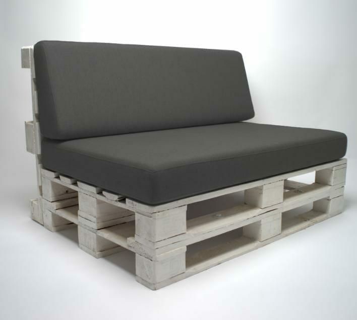 Palettenpolster Lounge Set-Palettenkissen