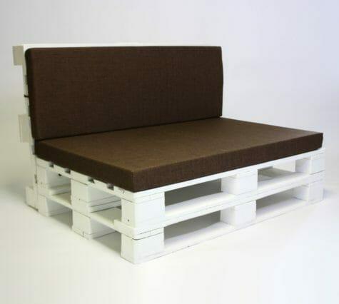 Palettenpolster Set1-Sitzpolster und Rückenkissen Set
