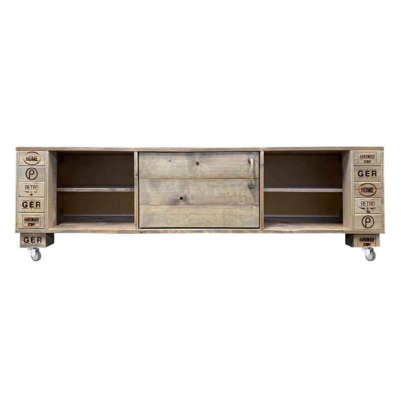 Sideboard-TV Schrank Kommode-Palettenmöbel 24