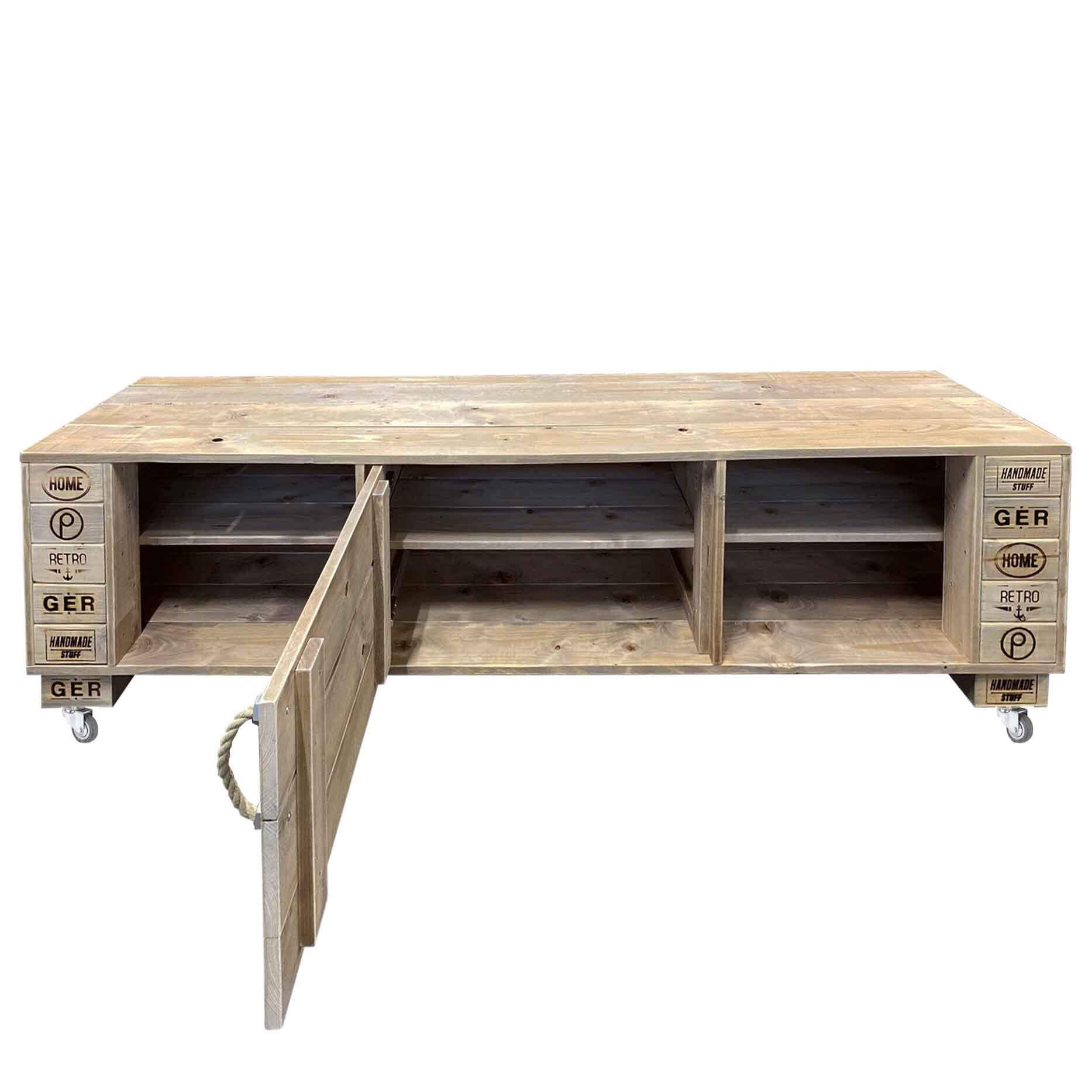 Sideboard tv schrank kommode palettenm bel shop for Kommode shop