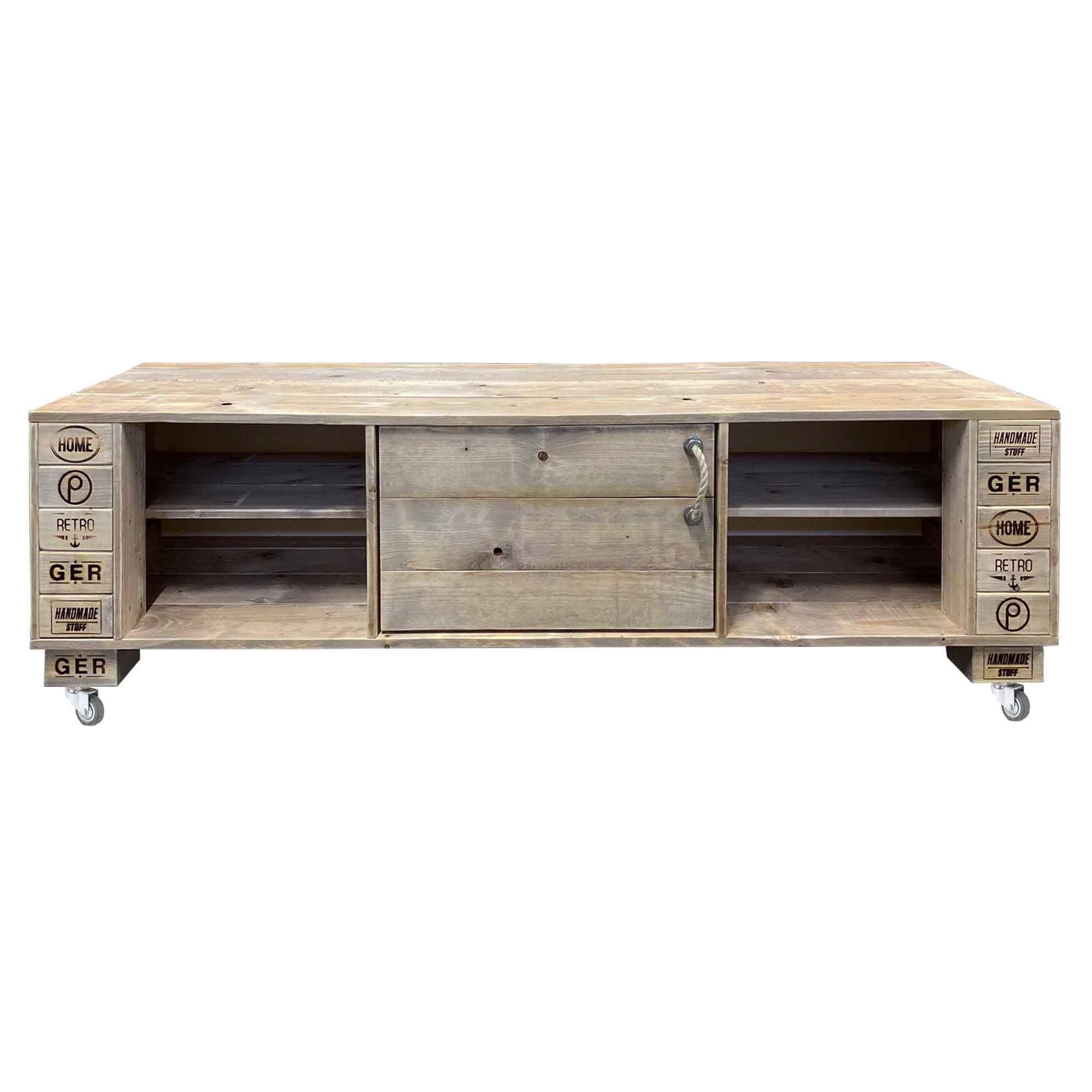 Sideboard-TV Schrank Kommode-Palettenmöbel 244