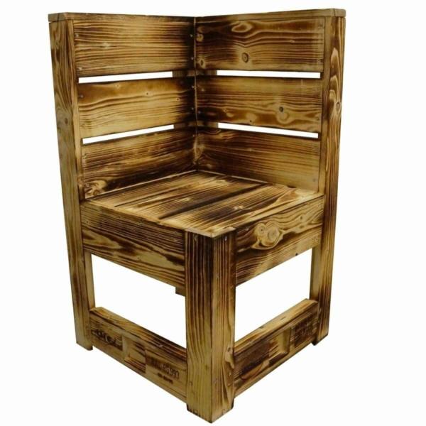 Sitzecke-Bank aus Paletten
