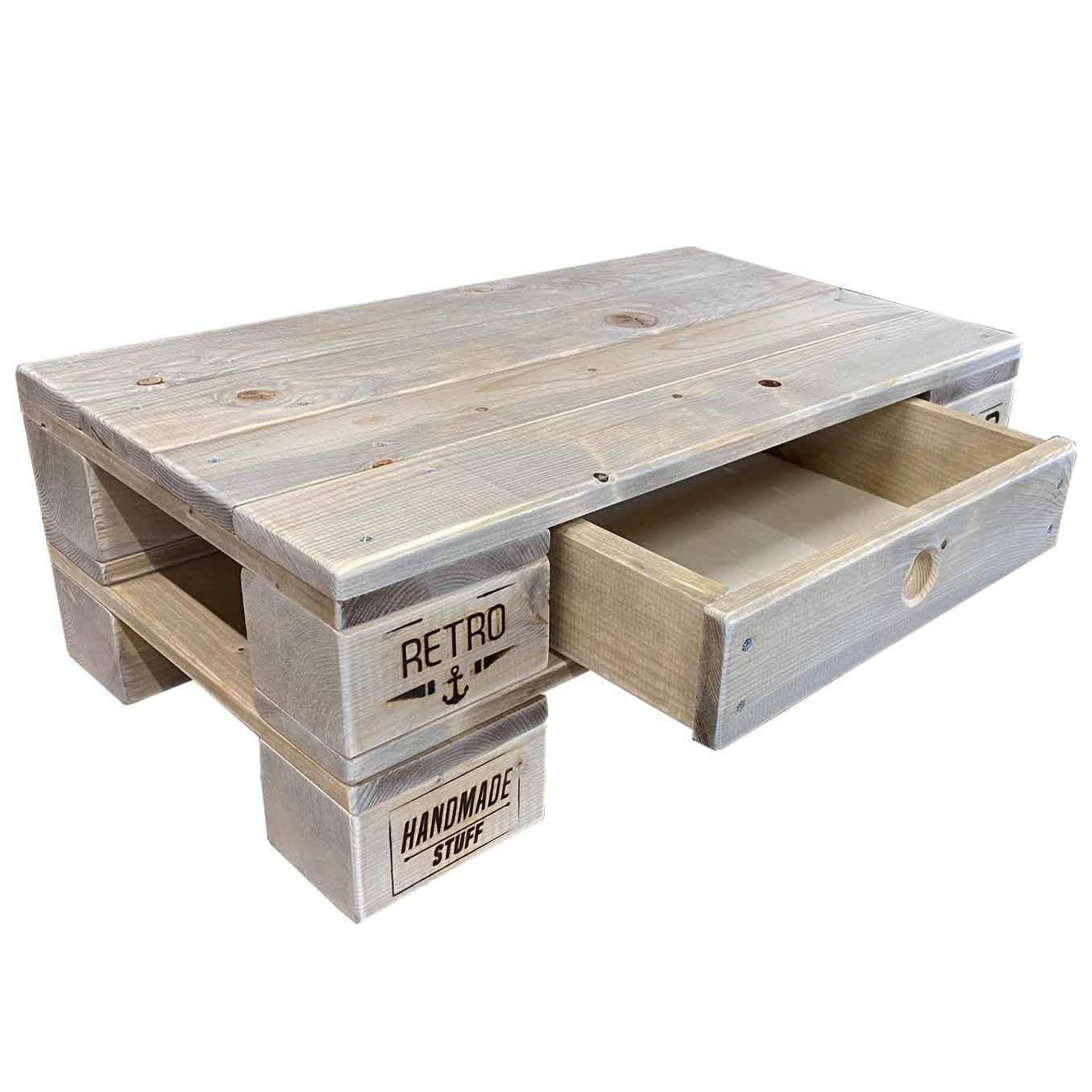 ᐅ Lounge Tisch - Beistelltisch - Couchtisch aus Paletten ...