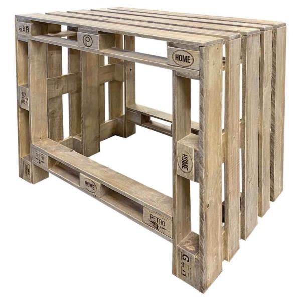 Tisch aus Europaletten-Palettenmöbel-Paletten