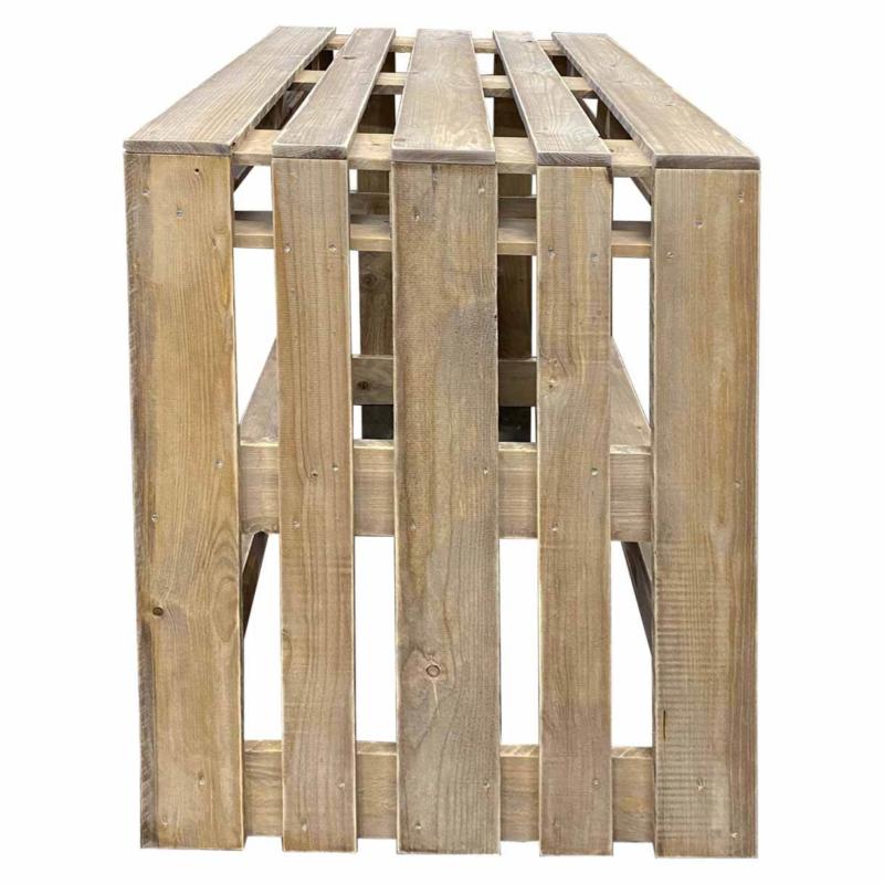 Tisch aus Paletten-Palettenmöbel