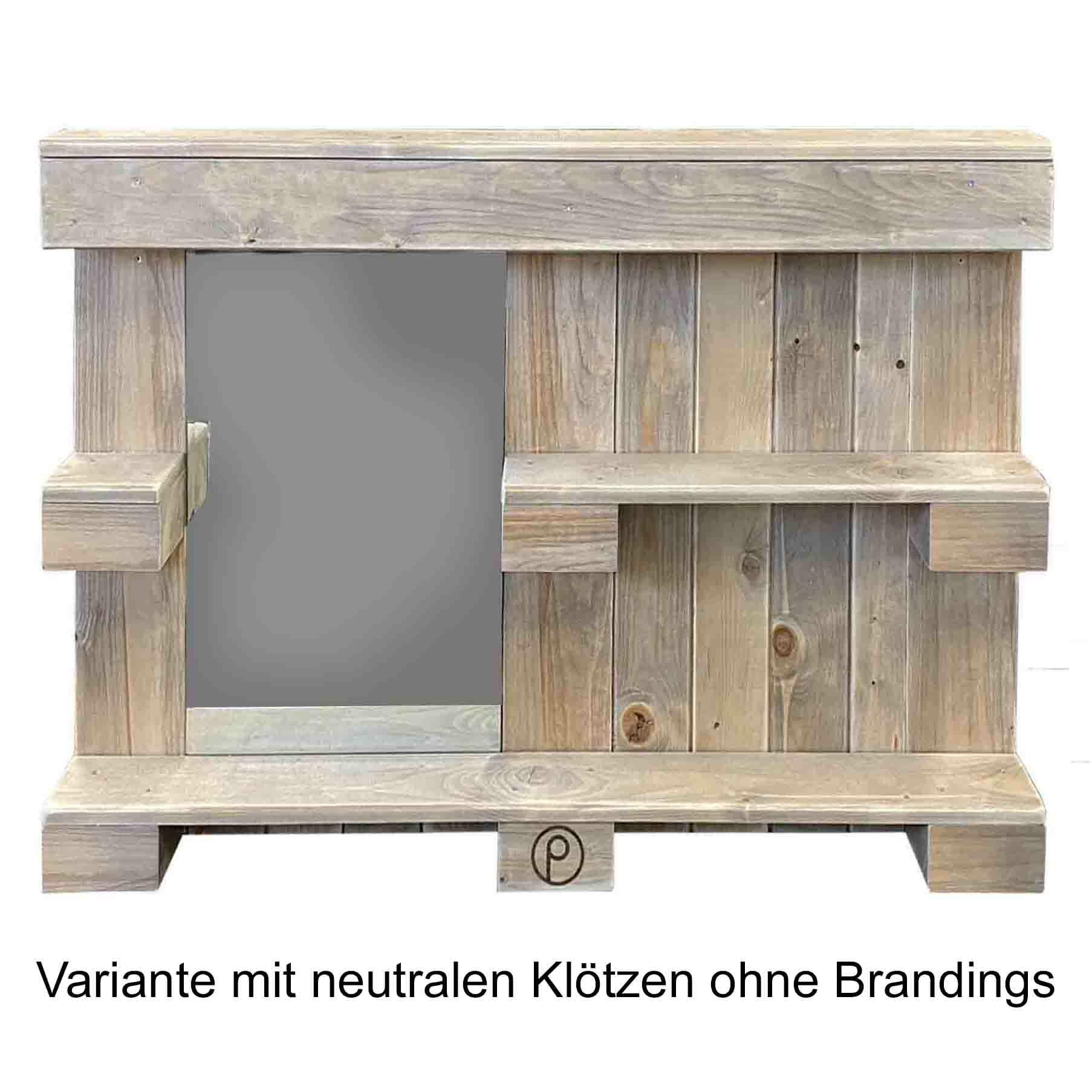 Wandregal - Garderobenregal aus Paletten-Palettenmöbel