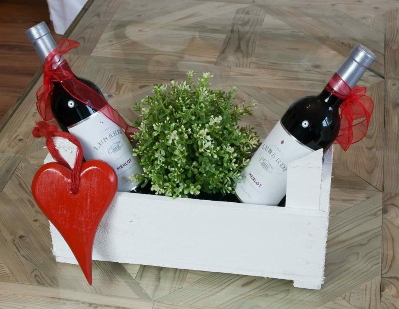 Weiße Weinsteige