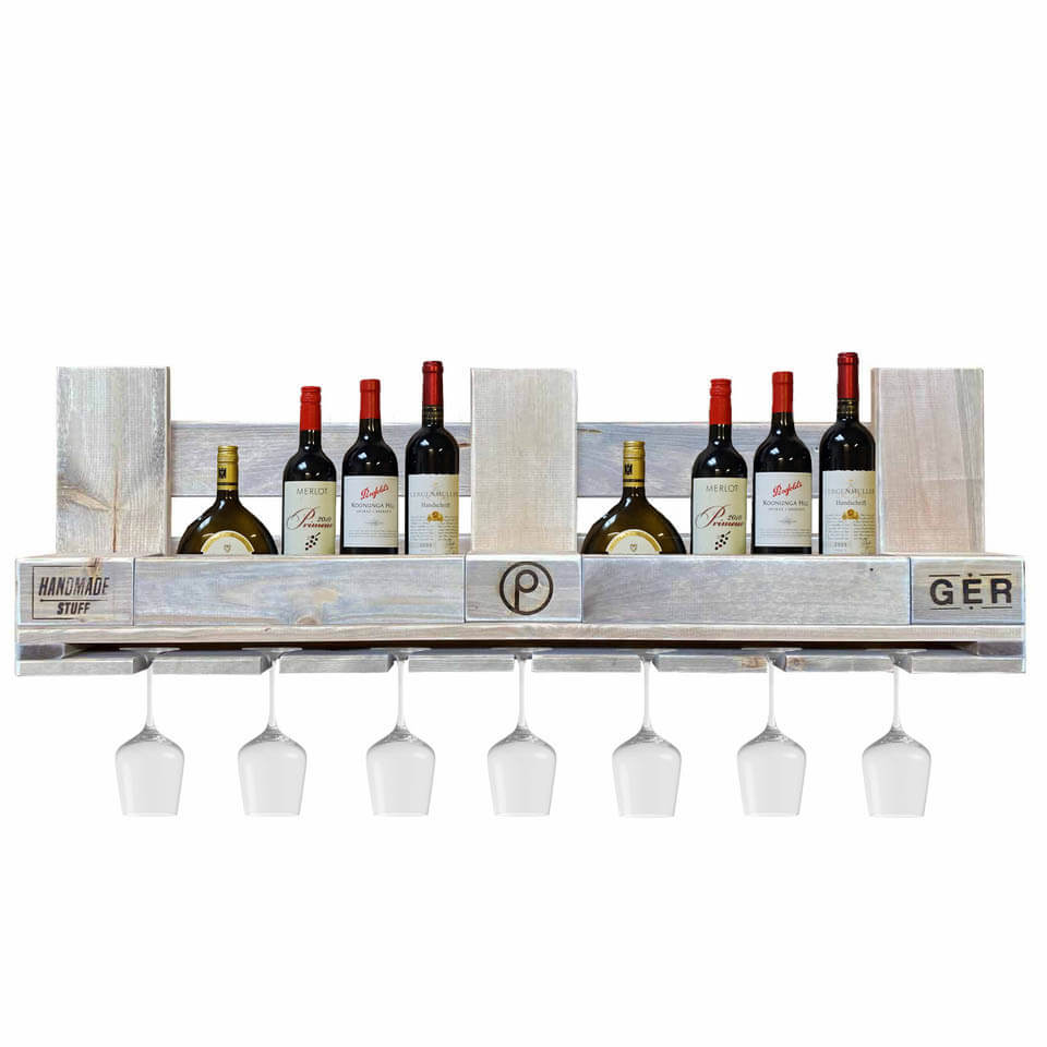 Weinregal aus Europaletten-Palettenmöbel