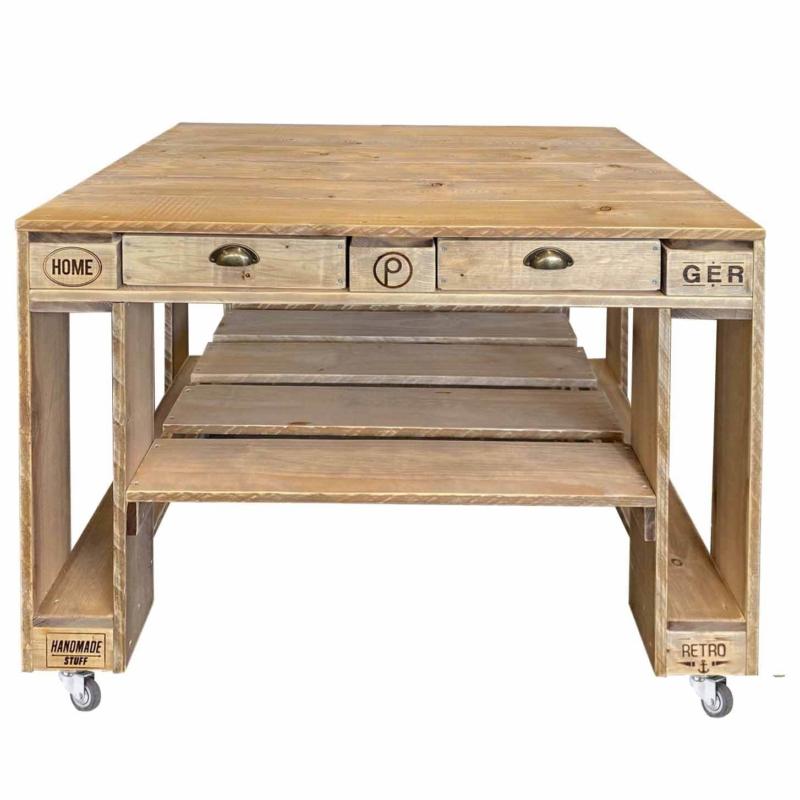 Grill Tisch aus Europaletten-Palettenmöbel Grilltisch-Paletten-Basic