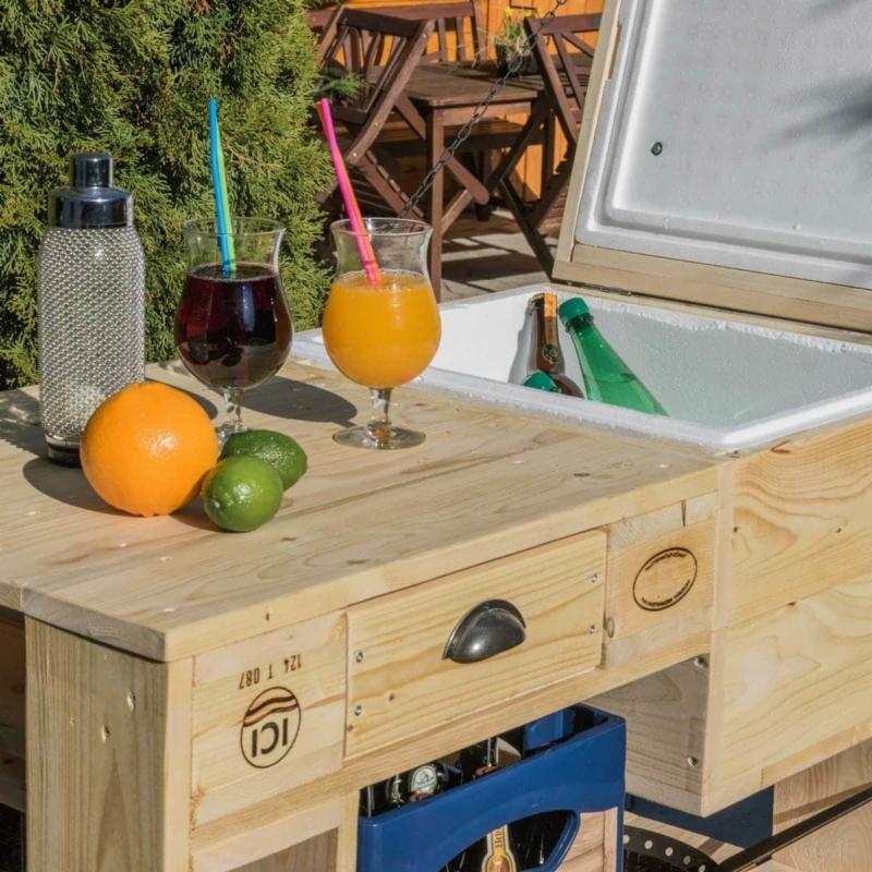 Grilltisch aus Paletten-Palettenmöbel Tisch-Cool