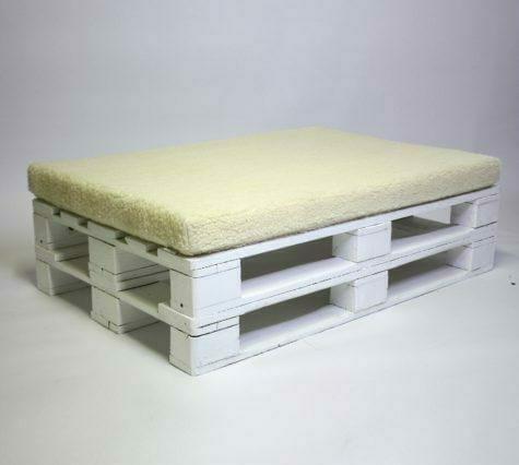 palettenkissen abnehmbarer bezug wolle wasserdicht 120x80x8. Black Bedroom Furniture Sets. Home Design Ideas