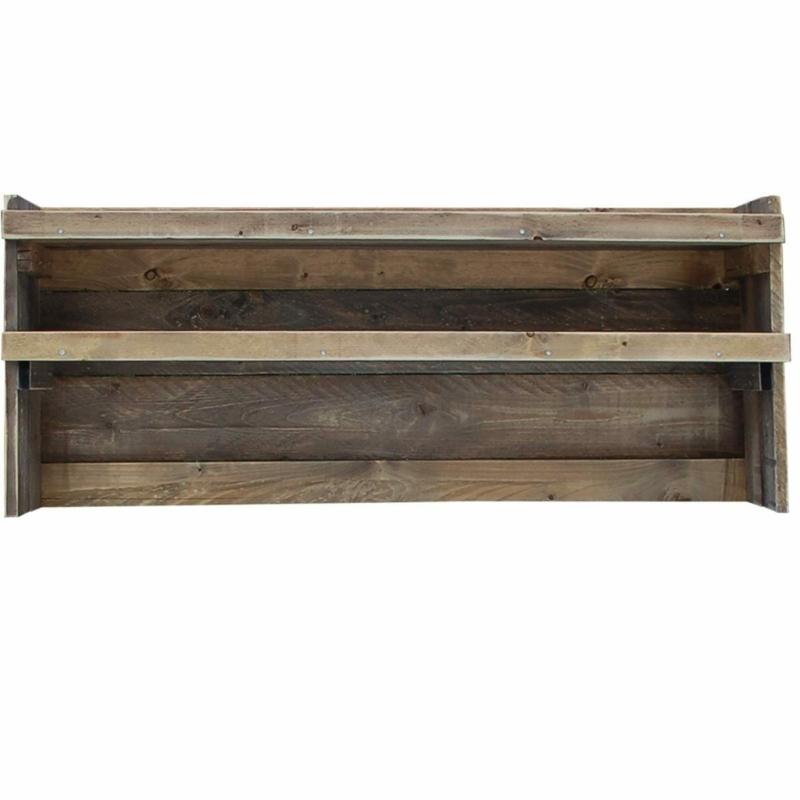 Rückwand-Regal für Palettenmöbel Grilltisch