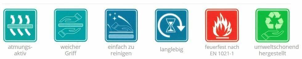 Paletten Lounge Produkteigenschaften
