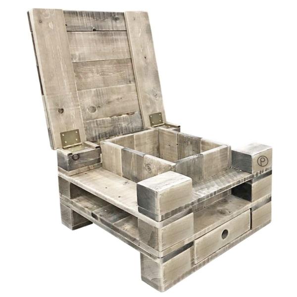 Palettenmöbel-Couchtisch-Wohnzimmertisch-Beistelltisch