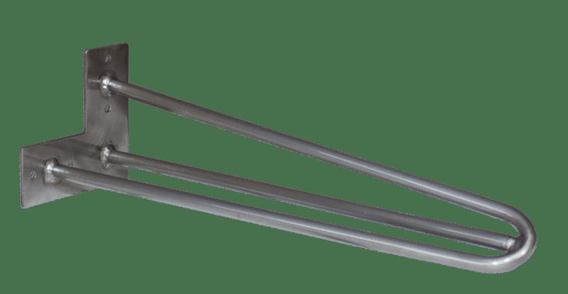 Hairpin-Legs-40cm-3-Stangen-clear-klarlack
