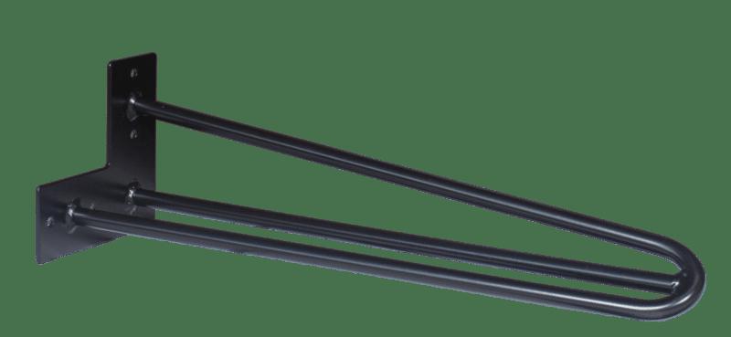 Hairpin Legs-40cm-schwarz-3-Stangen