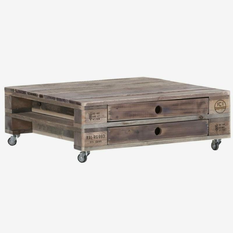 Couchtisch-Palettentisch-Lounge Tisch-Wohnzimmertisch