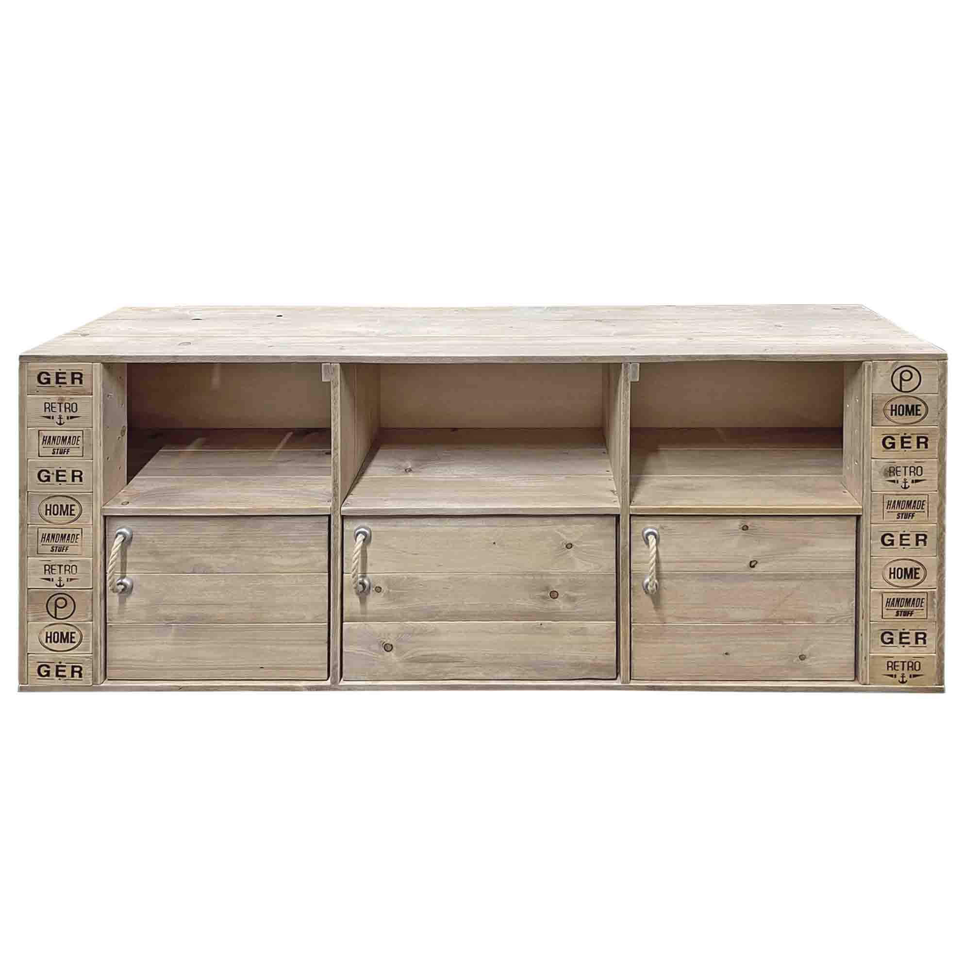 ᐅ Große Kommode - Sideboard - TV Schrank | Palettenmöbel Shop