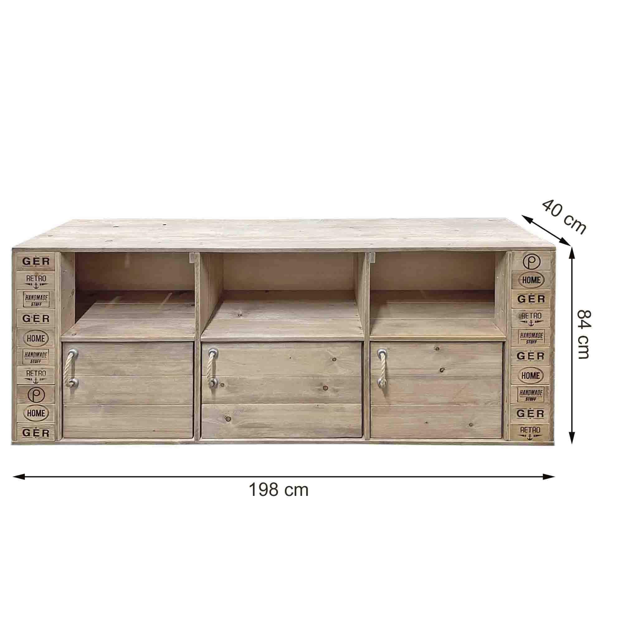 ᐅ Grosse Kommode Sideboard Tv Schrank Palettenmobel Shop