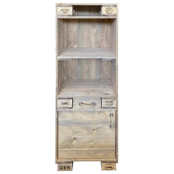Hochschrank-Schrank aus Paletten-Palettenmöbel