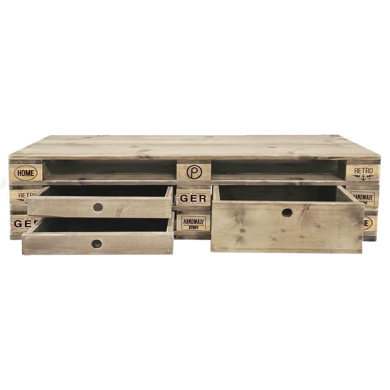 Kommode-Palettenmöbel-Sideboard aus Europaletten