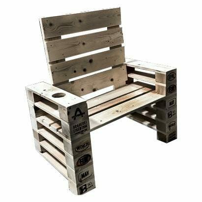 ᐅ Sessel aus Paletten kaufen - Sitzmöbel | Dein Palettenmöbel Shop