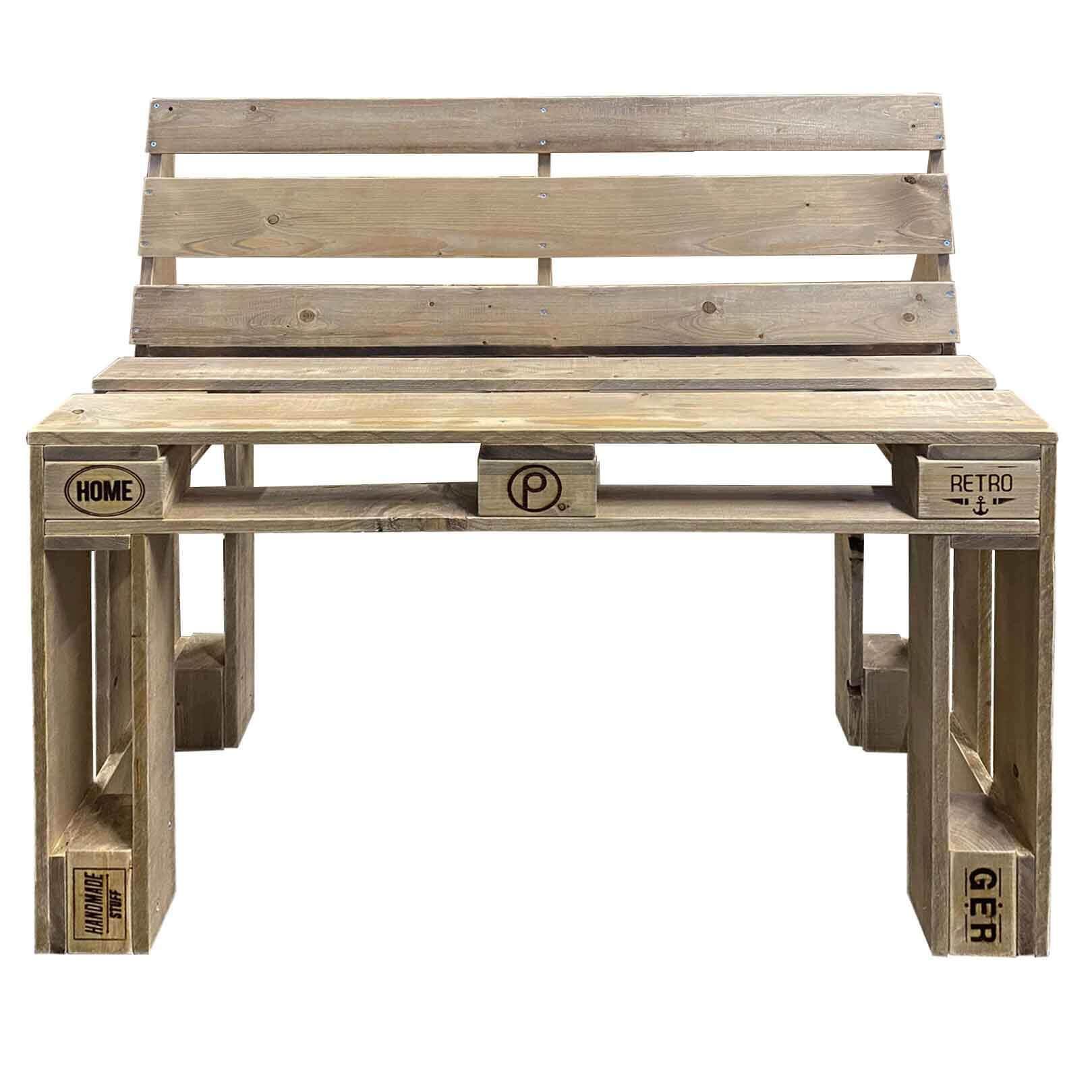 ᐅ Sitzbank aus Paletten - Palettenbank kaufen | Dein Palettenmöbel...