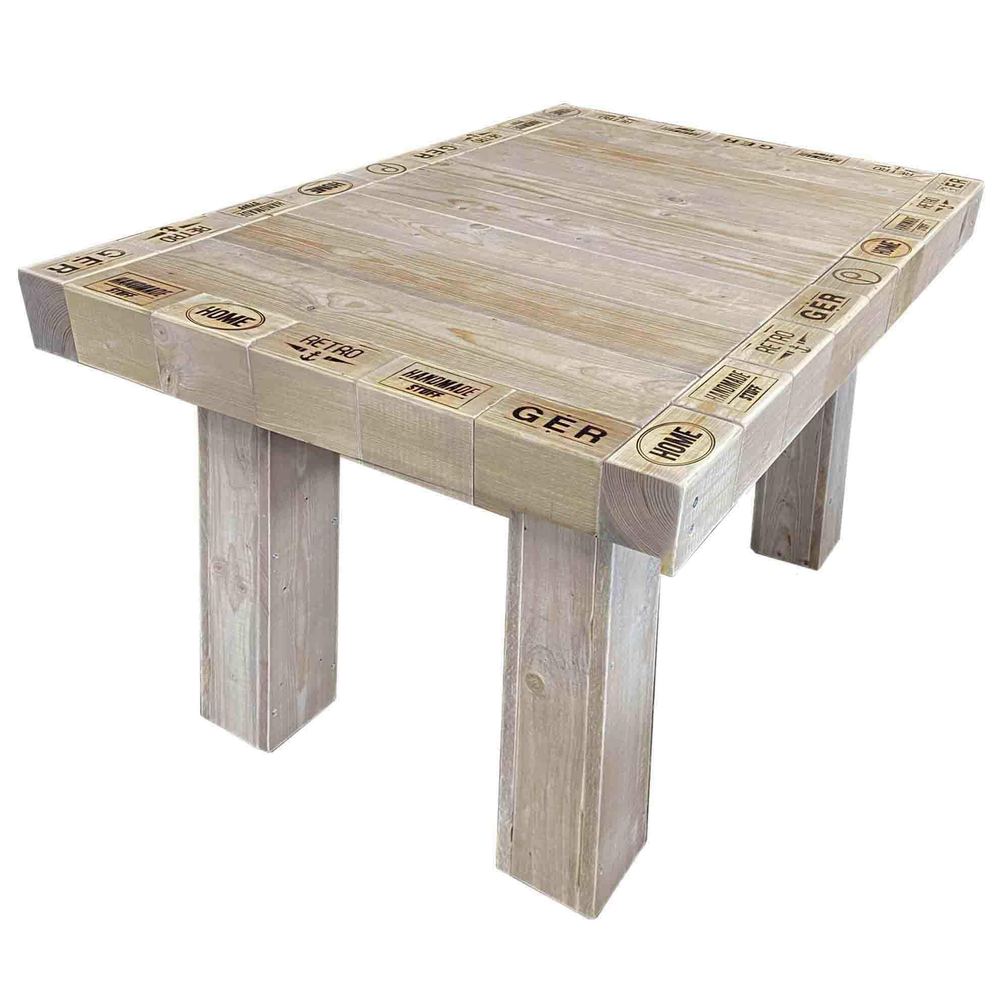 Atemberaubend Gartentisch - Esstisch aus Palettenholz | Palettenmöbel Shop #EC_87