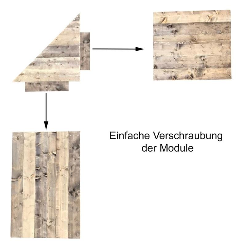 Grilltisch - Eckverbindung -Eckmodul