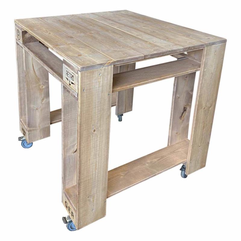 Grilltisch-Grillwagen-Palettenmöbel Tisch